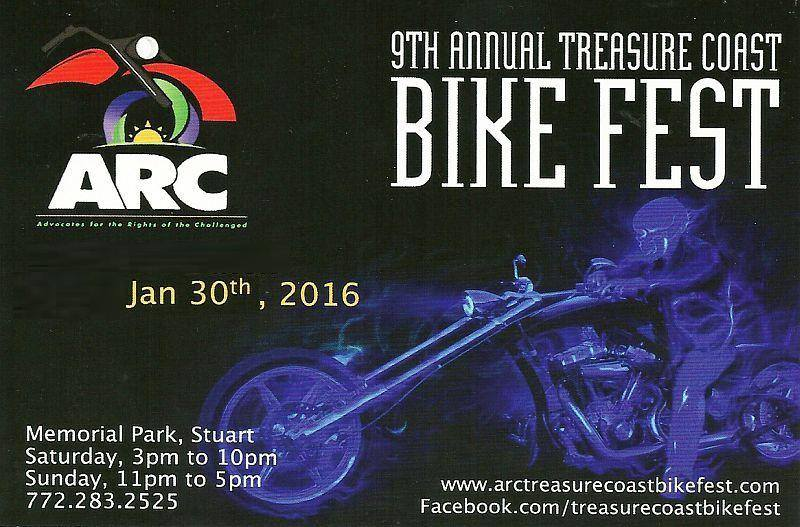 Venture Construction Group of Florida Sponsors ARC Bike Fest Treasure Coast