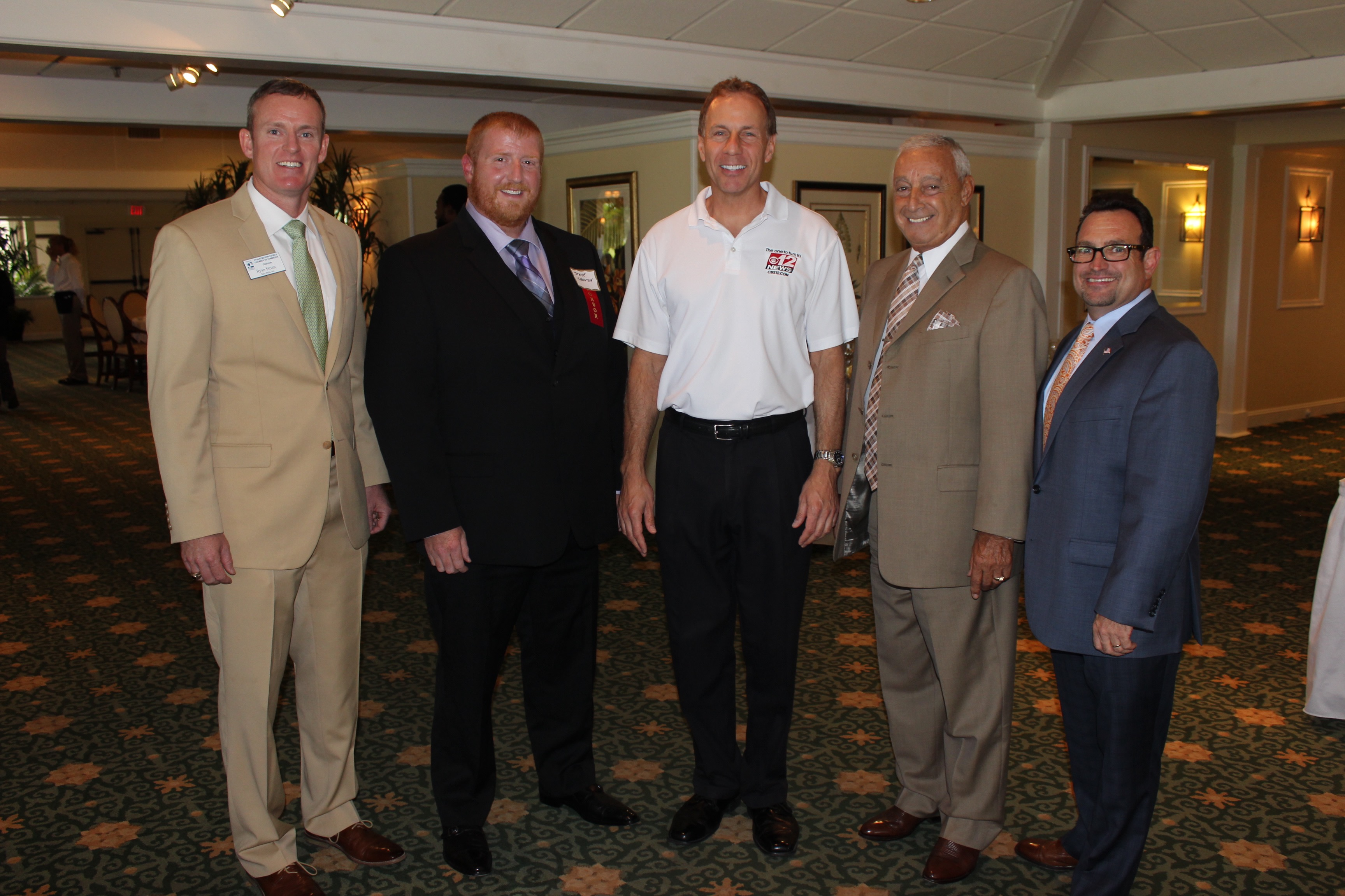 Venture Construction Group Stephen Shanton July 2016 Networking Luncheon at Mariner Sands