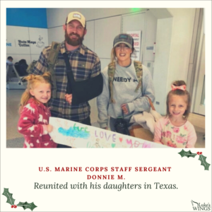 Venture Construction Group of Florida Spreads Holiday Cheer for Nation's Military Personnel