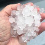 Daytona Beach Hail Storm, Photo Courtesy of News Journal