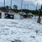 Daytona Beach Hail Storm, Photo Courtesy of WFTV