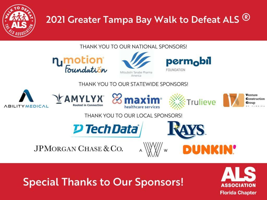 Venture Construction Group of Florida Sponsors Tampa Walk to Defeat ALS®